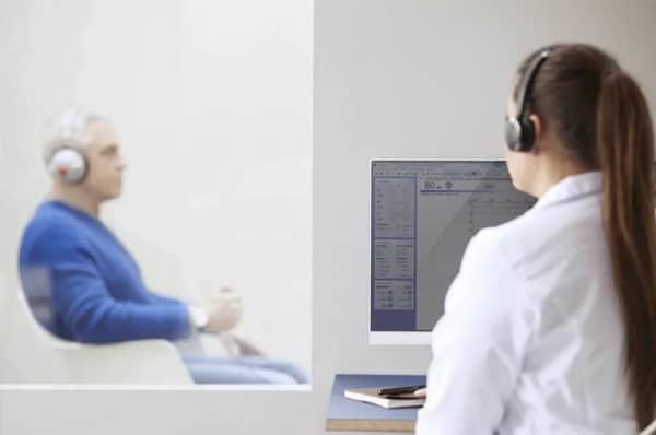 Serviço – Exame Audiometria